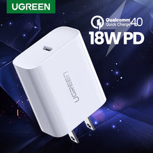 Load image into Gallery viewer, UGREEN OFFICIAL 18W PD 3.0 USB C Power Adapter