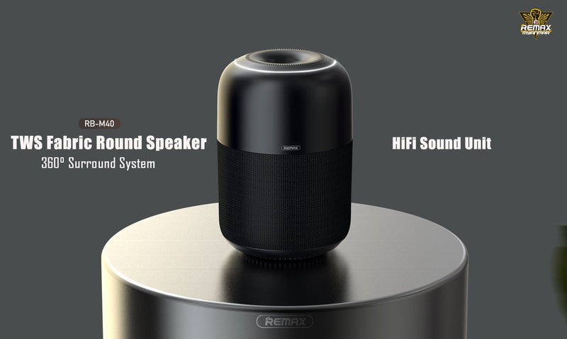 RB-M40 TWS Wireless Round Speaker,Speaker,Bluetooth Speaker,Wireless Speaker,Desktop Speaker, Portable Speaker,Mini Bluetooth Speaker,wireless speaker for Phone,Computer ,Music ,iPhone,iPad,Tablet,Bluetooth Speaker with SD Card,Flash Drive,Aux