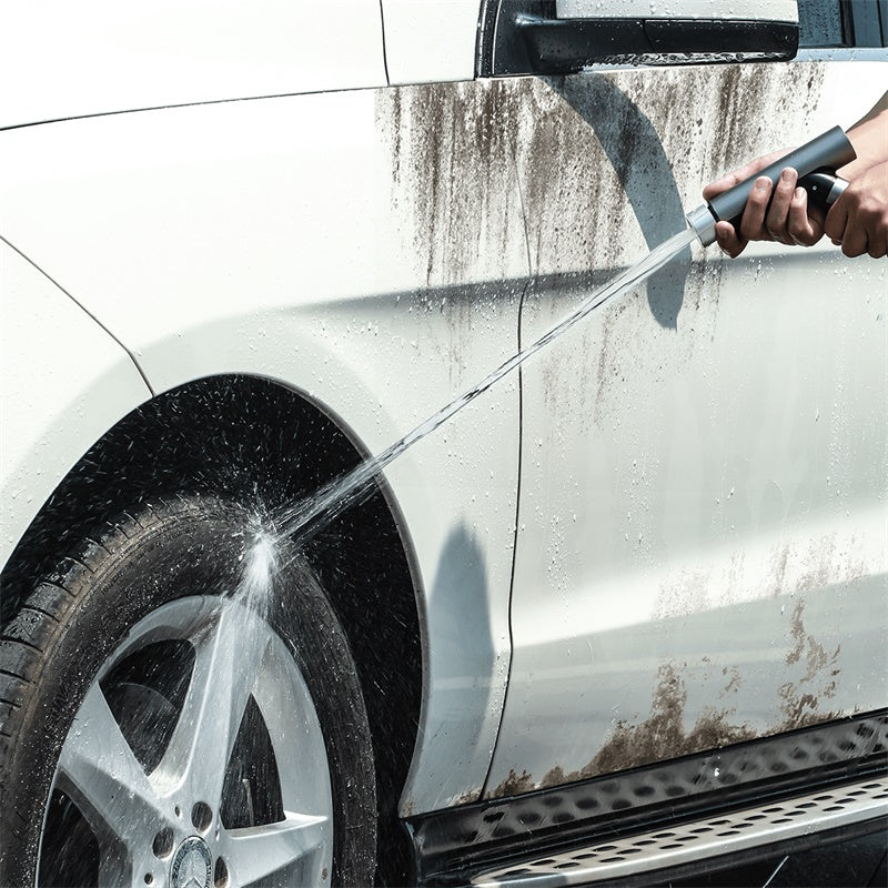 BASEUS SIMPLE LIFE CAR WASH SPARY NOZZLE 7.5M AFTER WATER FILLING (WITH MAGIC TELESCOPIC WATER POPE),Car Wash Spray,Car Washing Gun, Car Washing Pipe,Car Wash Water Gun Set,Washing Gun Sprayer,High Pressure Washer Hose Cleaner,Magic Telescopic Water Pipe
