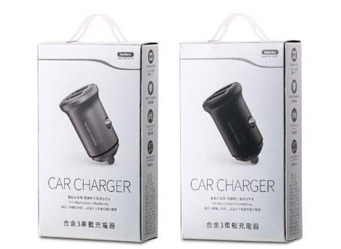 REMAX-RCC222 ALLOY SERIES III CAR CHARGER 4.8A ,Car Charger,Car Charger Adapter cell phone car charger,USB Car Charger,Fast Car Charger,Car charger for Micro,iPhone,Type C ,Lightning Car Charger,Android Car Charger,Cigarette Lighter iPhone Car Charger