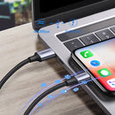 UGREEN ---USB-C TO LIGHTING M/M CABLE ALUMINUM SHELL BRAIDED1M ,Type C To IPhone , USB C To IPhone , Type C To Lightning, USB C To Lightning, IPhone 12 Cable, Cable For IPhone 12,Cable For IPhone 12,Cable For IPhone 12,IPHONE 12 CABLE ,PD CABLE