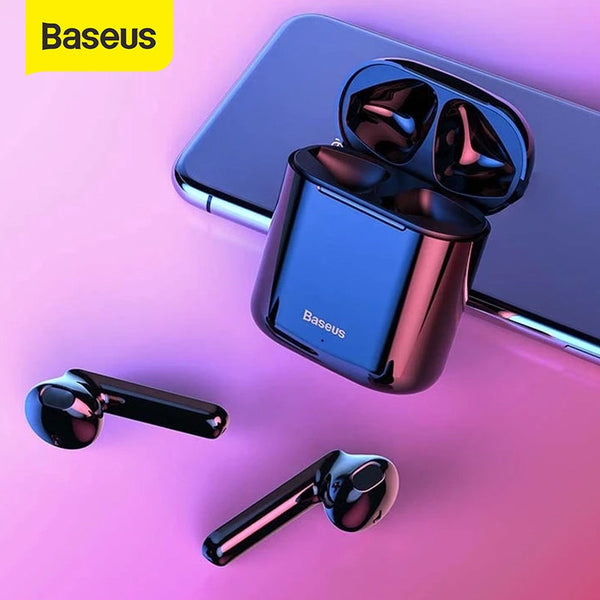 BASEUS W09 ENCOK TRUE WIRELESS TWS EARPHONES, TWS EARPHONES, TWS EARBUDS, WIRELESS EARPHONES,WIRELESS EARBUDS, TWS I12 BEST EARBUDS, BLUETOOTH EARBUDS, BLUETOOTH EARPHONES