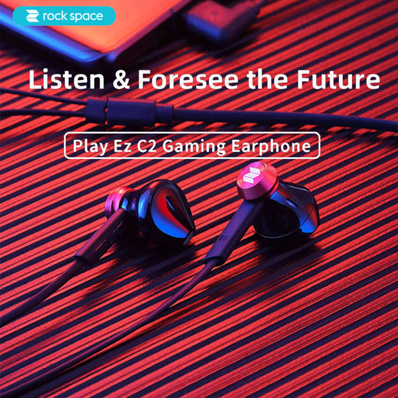 R S--C2 GAMING  EARPHONE,GAMING EARPHONE, Type C Gaming Earphone with mic  , USB C Stereo Headset ,  USB C Gaming headset, Type C Wired Headset for PUBG Gamer , Best Type C Gaming Earphone for PUBG
