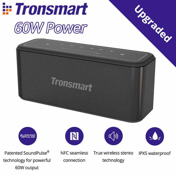 Tronsmart Mega Pro Speaker , Bluetooth Speaker , Wireless Speaker , Desktop Speaker , Portable Speaker , Mini Bluetooth Speaker , wireless speaker for Phone , Computer , Music ,iPhone , iPad , Tablet , Bluetooth Speaker with SD Card , Aux