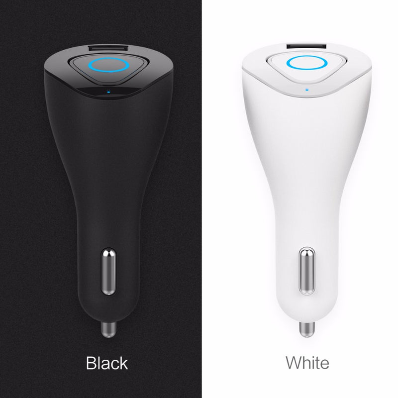 ROCK MUCA Car Charger & Bluetooth Earphone