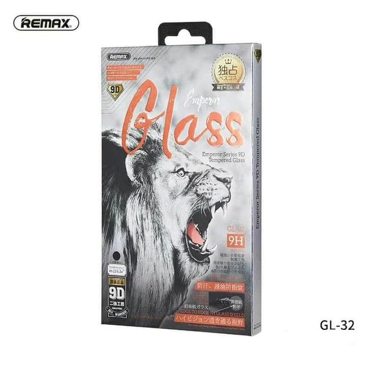 REMAX-(IPH 12 MINI )(5.4 INCHES)GL-32 EMPEROR SERIES 9D SCREEN PROTECTOR TEMPERED GLASS FOR IPH 12 ,iPhone 12 tempered glass , iPhone 12 screen protector , Best screen protector for iPhone 12 , Glass screen protector , screen guard , မှန်မကွဲ , မှန်ကပ်