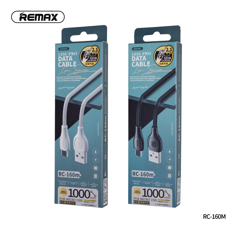 REMAX-RC-160M LESU PRO SERIES DATA CABLE FOR MICRO,Cable,Micro Cable ,Micro Charging Cable ,Micro USB Cable ,Android charging cable ,USB Charging Cable ,Data cable for Andorid,Fast Charging Cable ,Quick Charger Cable ,Fast Charger USB Cable