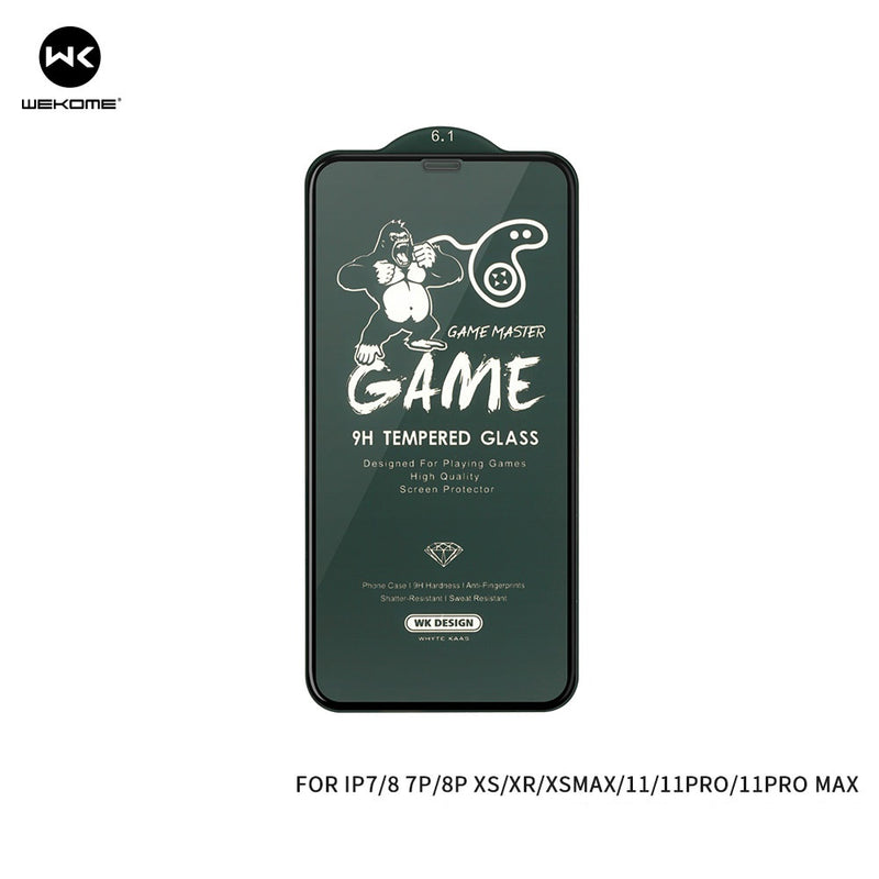 "WK KINGKONG SERIES TEMPERED GLASS SCREEN PROTECTOR MATT FINISH(WTP-030) (IPH 12)(5.4"") , iPhone Matte tempered glass , iPhone Matte screen protector , Best Matte screen protector for iPhone , Matte screen guard ,  Gaming Screen Guard"