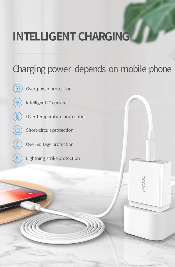 PRODA PD-A16 SINGEE SERIES IPHONE PD FAST CHARGING 18-W TRAVEL ADAPTER
