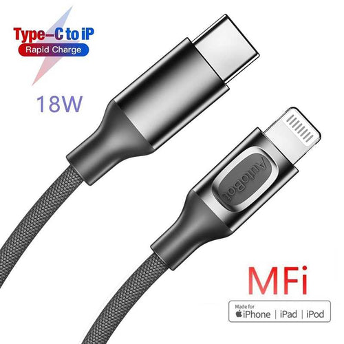 MFI Type c to Lightning PD Cable