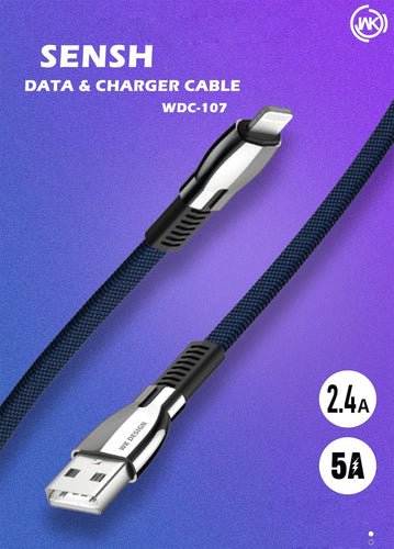 WK--- WDC-107 SENSH 2.4A DATA CABLE  (1M)