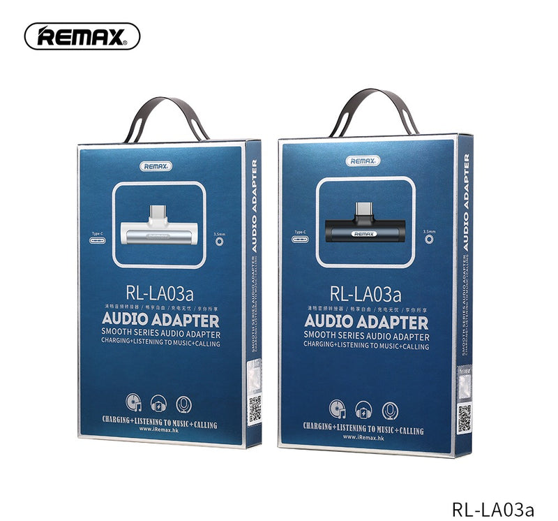 REMAX--TYPE-C RL-LA03A  SMOOTH SERIES 3.5MM TYPE-C AUDIO 2.1A ADAPTER CHARGING+LISTENING TO MUSIC,Cable,USB Type C Cable,USB C Charger Cable,Type C Data Cable,Type C Charger Cable,Fast Charge Type C Cable,Quick Charge Type C Cable,the best USB C Cable