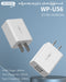 WK WP U56M Dual USB Charger For Micro