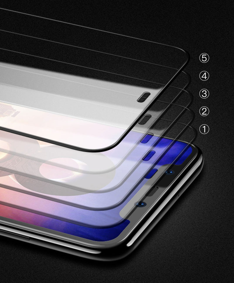 WK--I-PH XS MAX(6.5 '') KK SERIES 3D TEMPERED GLASS WITH A FULL RANGE OF MODELS