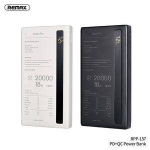 New Linon Pro Power Bank 20000mAh With QC+PD Fast Charging RPP-157