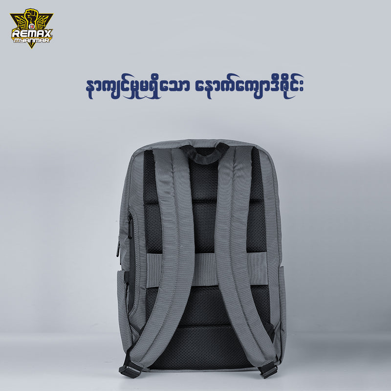REMAX LIFE-RL-SC07 CLASSIC BUSINESS BACKPACK,Double Backpack Bag,Modern Backpacks,Simple Backpack,Insulated Backpack for Laptop,Fashion Backpack, Unique Backpack,Canvas Backpack,Student Backpack,Cool Backpack for Boys,Girls,Men,Women,School Bag