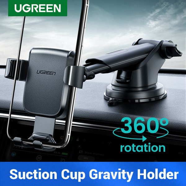 CAR PHONE HOLDER,GRAVITY PHONE HOLDER WITH SUCTION CUP, DASHBOARD HOLDER
