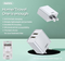 REMAX-RP-U51 ELVES SERIES DUAL 2USB 2.1A CHARGER RP-U51,Charger,USB Phone Charger,Mobile Phone Charger,Smart Phone Charger,Andriod Phone Charger , Muti port usb charger,quick charger,fast charger,the best usb phone charger,wall charger,Portable Charger