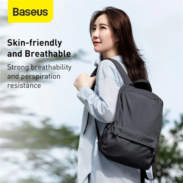 BASEUS BASICS SERIES 16'' COMPUTER BACKPACK,Double Backpack Bag , Modern Backpacks , Simple Backpack , Insulated Backpack for Laptop , Fashion Backpack , Unique Backpack , Canvas Backpack , Student Backpack , Cool Backpack for Boys , Girls