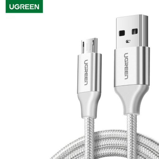 UGREEN OFFICIAL MICRO USB 2.0 CABLE 1M (METAL)