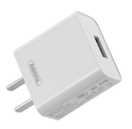 REMAX-(TYPE-C) RP-U14 TRAVELLER SERIES 2.4A CHARGER WITH 2.4 DATA CABLE(SINGLE USB)