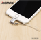 REMAX-VISUAL RA-USB2 MICRO USB TO APPLE,Charger,USB Phone Charger,Mobile Phone Charger,Smart Phone Charger,Andriod Phone Charger , Muti port usb charger,quick charger,fast charger,the best usb phone charger,wall charger,Portable Charger