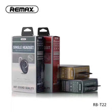 Load image into Gallery viewer, RemaxREMAX Bluetooth Headset (RB-T22 )