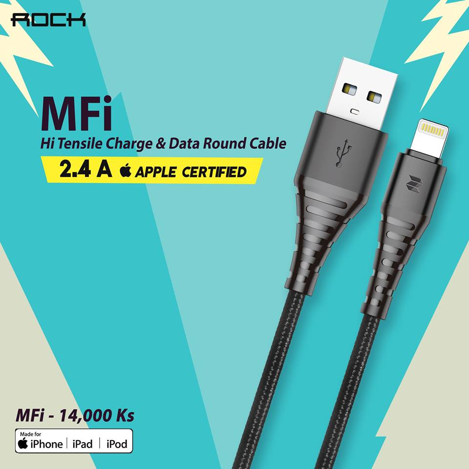 MFi Hi-Tensile Series Lightning Charge and Data Cable