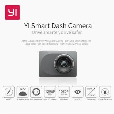 YI Car Black Box Camera (Global Version)