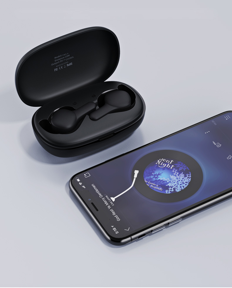 TWS-6 Wireless Earbuds