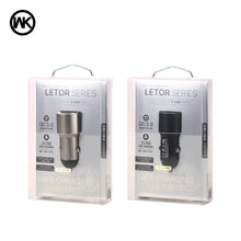 Load image into Gallery viewer, LETOR SERIES CAR CHARGER 2USB QC3.0 WP-C21