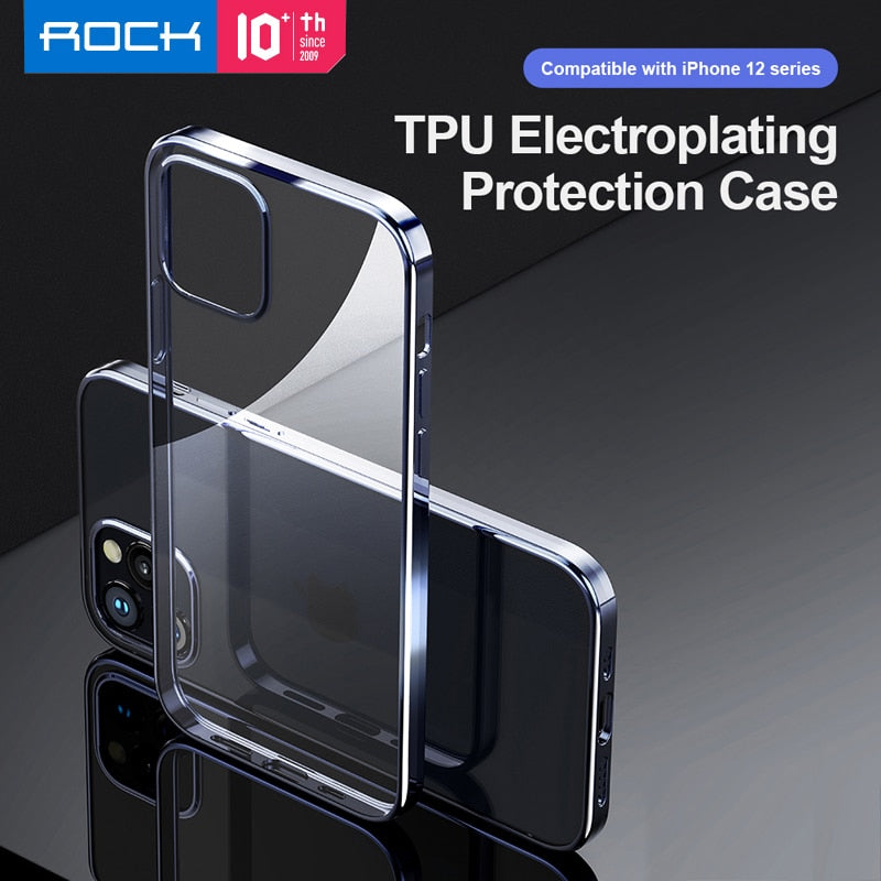 "TPU Electroplate Protection Case IPhone12 (5.4"")"