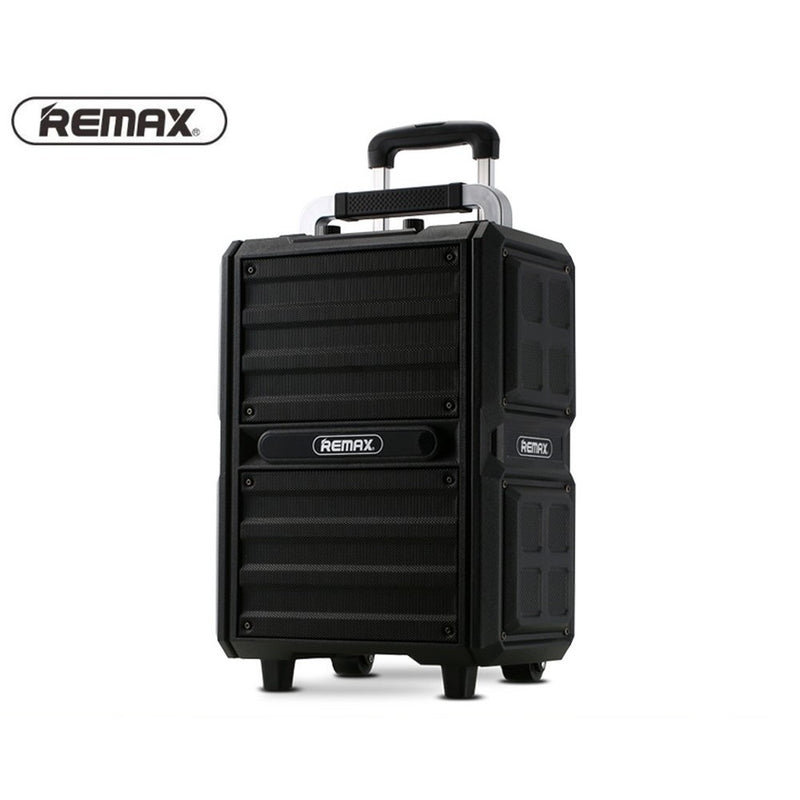 REMAX-RB-X5 SONG K OUTDOOR PULL ROD BLUETOOTH SPEAKER,Speaker,Bluetooth Speaker,Wireless Speaker,Desktop Speaker, Portable Speaker,Mini Bluetooth Speaker,wireless speaker for Phone,Computer ,Music,Tablet,Bluetooth Speaker with SD Card,Flash Drive,Aux,RGB