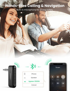 UGREEN OFFICIAL BLUETOOTH RECEIVER AUDIO ADAPTER 5.0
