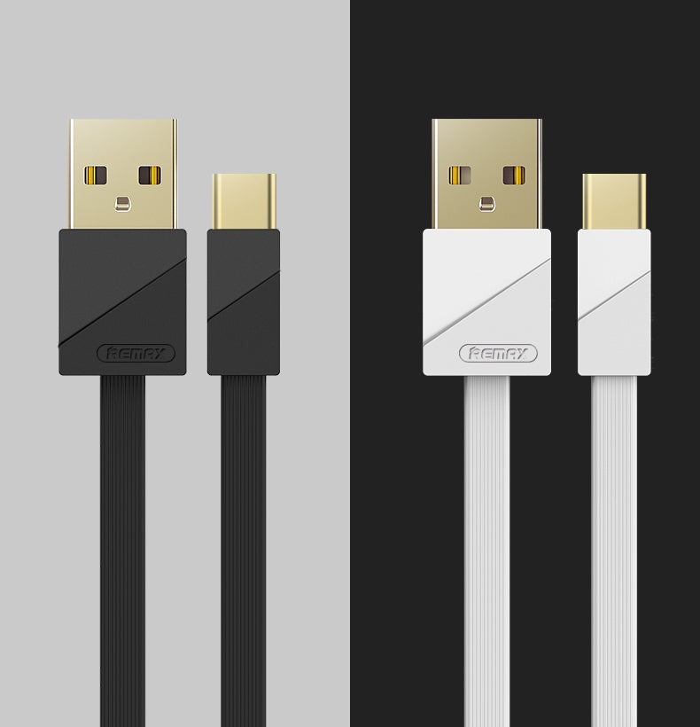 REMAX--RC-048A GOLD PLATING QUICK CHARGING 3A DATA CABLE FOR TYPE-C,Cable,Type C Cable for Andorid,USB Type C Cable,USB C Charger Cable,Type C Data Cable,Type C Charger Cable,Fast Charge Type C Cable,Quick Charge Type C Cable,the best USB C Cable