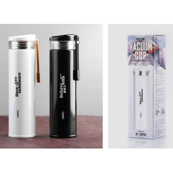 REMAX-(RT-CUP63) / (RT-CUP91) GREDDA SERIES VACUUM CUP,Vacuum Cup,Steel Vaccum Cup,Thermos Cup,Water Thermos,Thermos Bottle,Thermos for coffee,Heat Water Bottle, Vaccum Bottle,Vaccum Cup for travel,school,Office,Coffee,Tea,water,Hot & Cool Bottle
