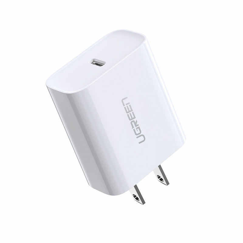 UGREEN-PD CHARGER ONLY 18W CD-137 (FAST CHARGING POWER SDAPTER WITH PD) Travel Charger, Charger , USB Phone Charger , Mobile Phone Charger , Smart Phone Charger , quick charger , fast charger , wall charger
