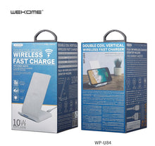 Load image into Gallery viewer, WK--- (WP-U84) FAST WIRELESS CHARGER 10W WP-U84 DESKTOP VERSION