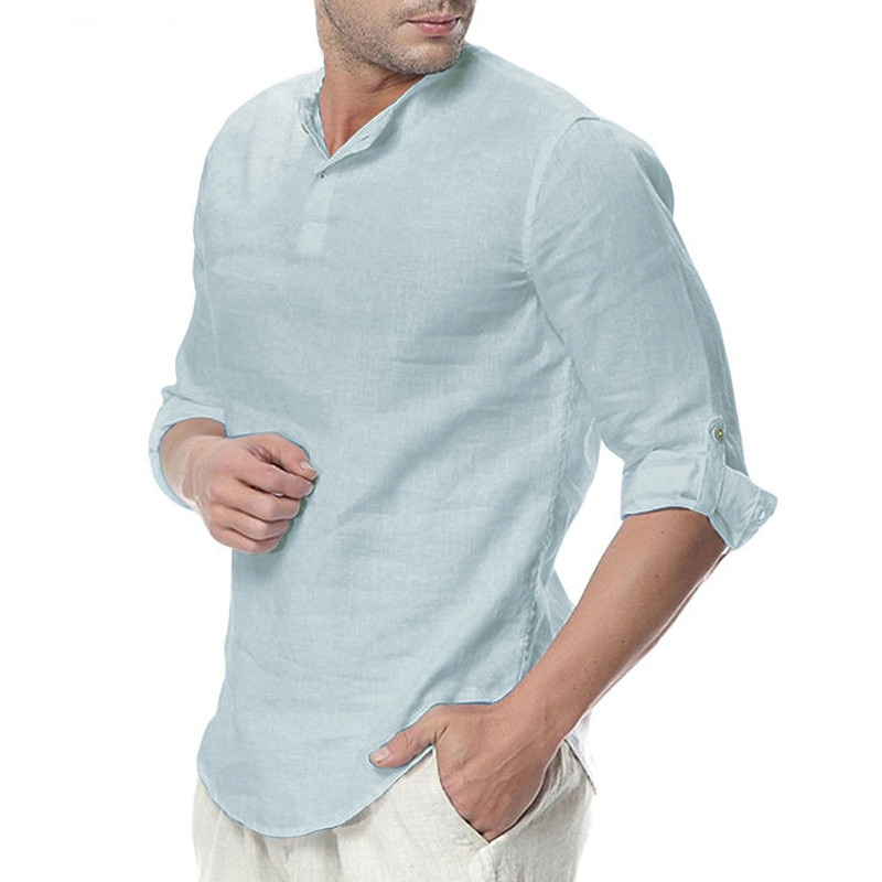 Simple Basic Long Sleeve Shirt