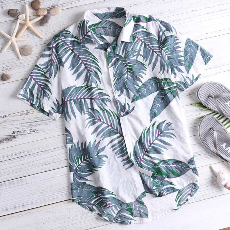 Hawaiian Button-Down Shirt
