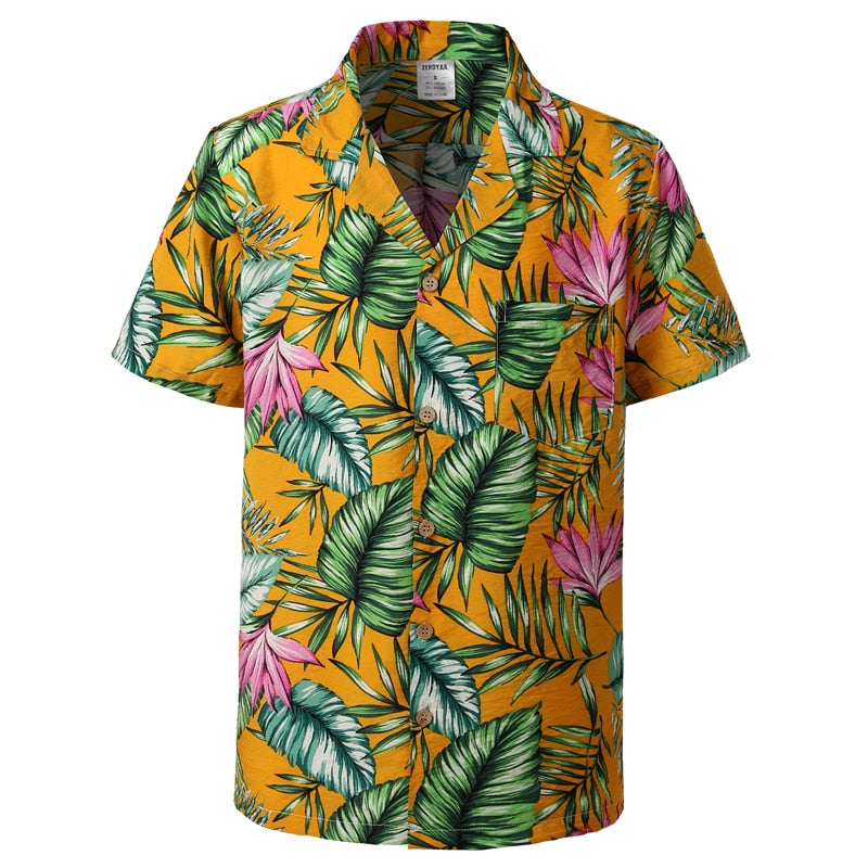 Castillo Aloha Button-Down Shirt