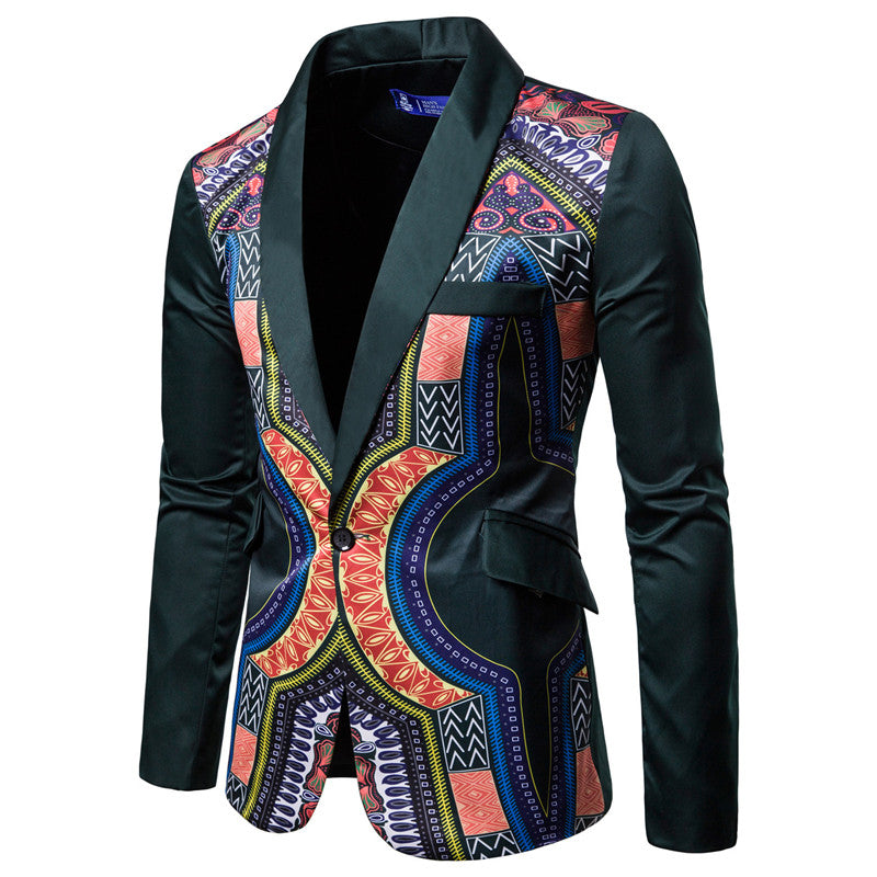 Multi Printed Ethnic Jacket