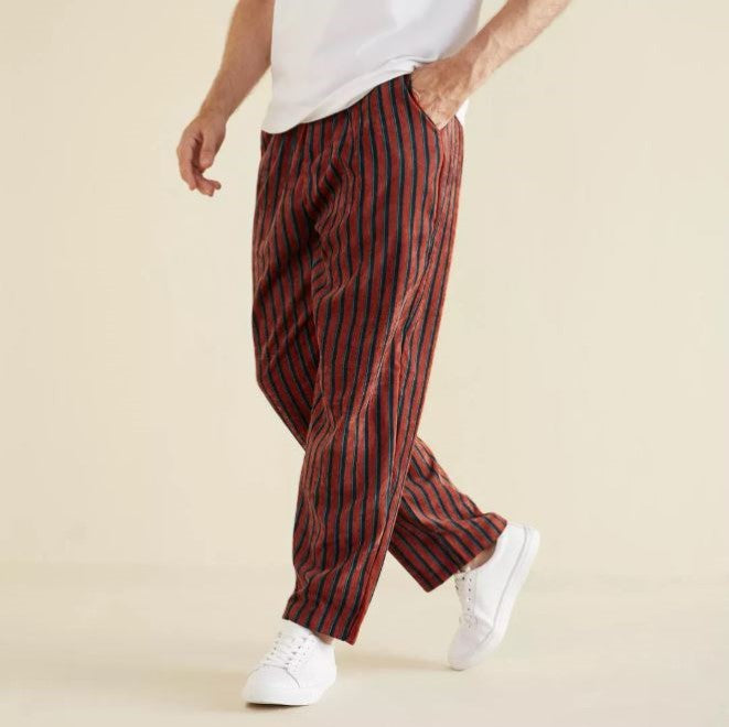 Straight Corduroy Pants