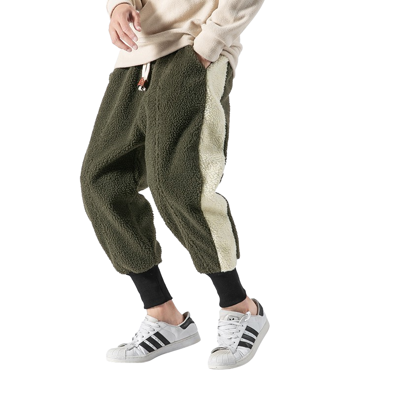 Teddy Fleece Joggers