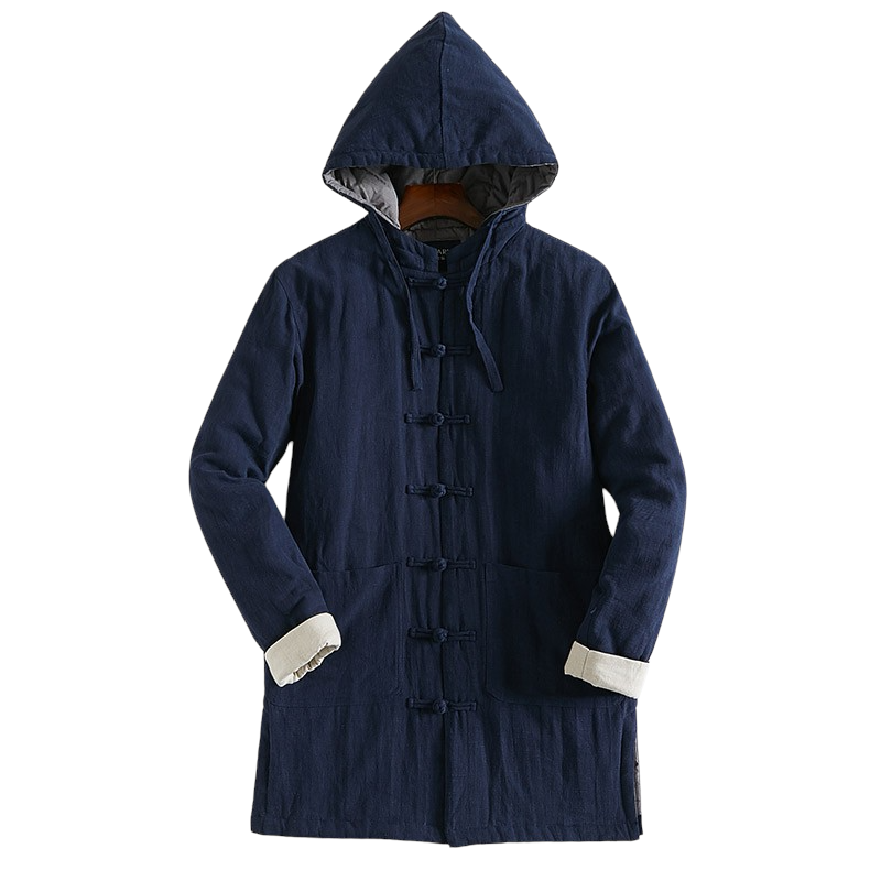 Retro Hooded Coat
