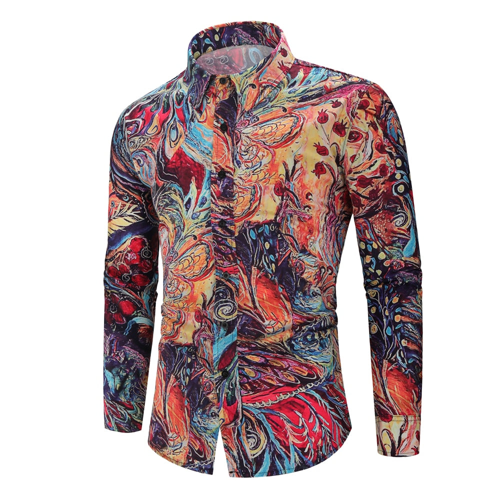 Multicolor Long Sleeve Shirt
