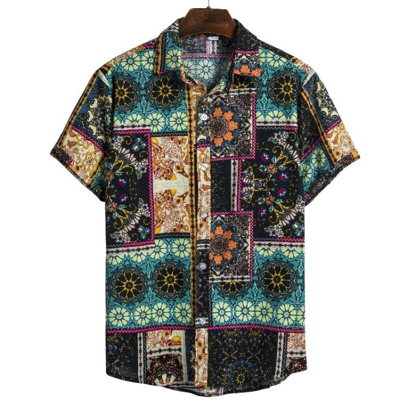 Colorful Printed Shirt