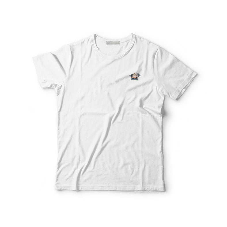 Island Embroidered T-Shirt