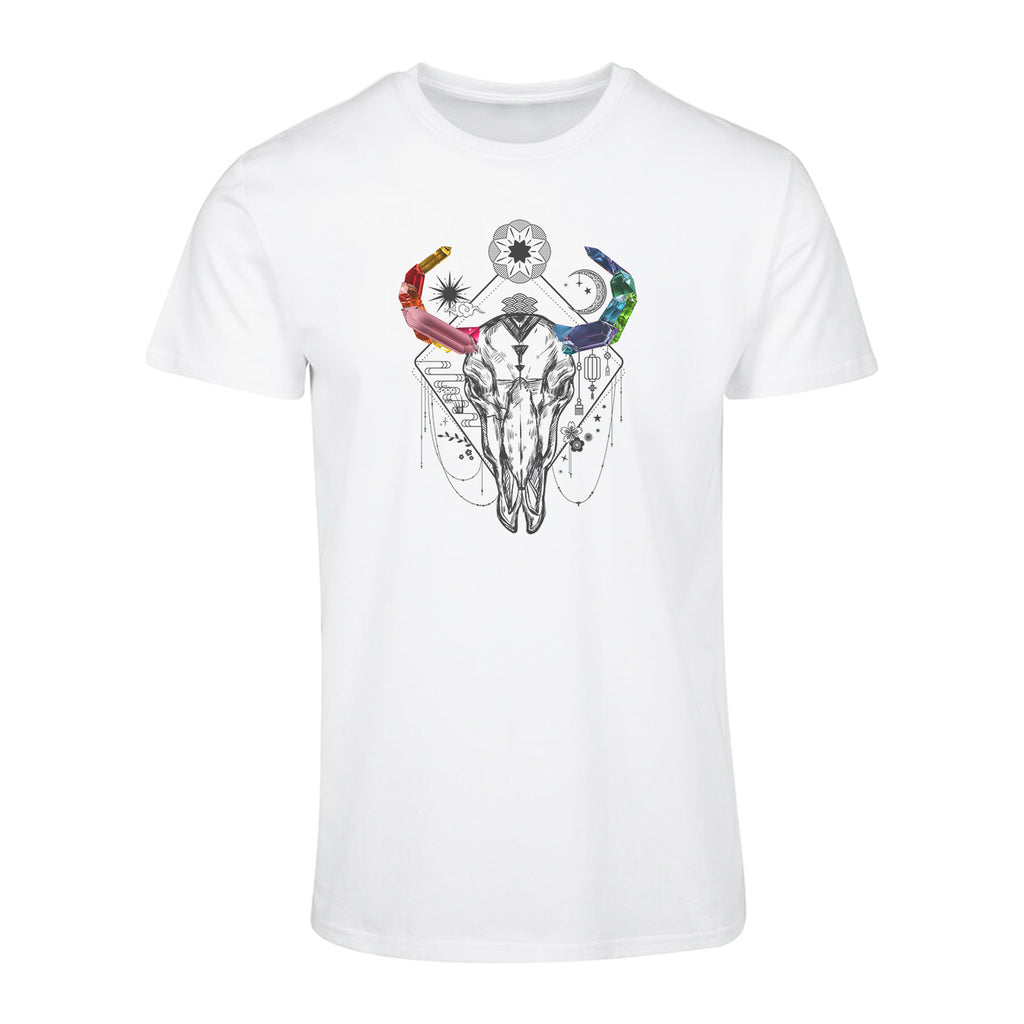 Crystal Buffalo Skull T-Shirt