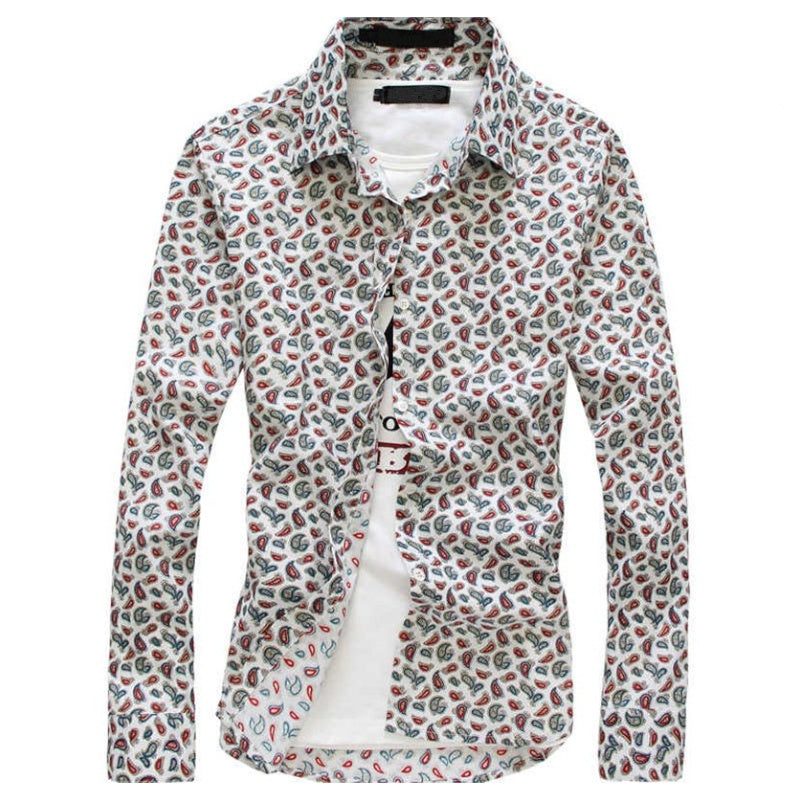 Patterned Button Shirt